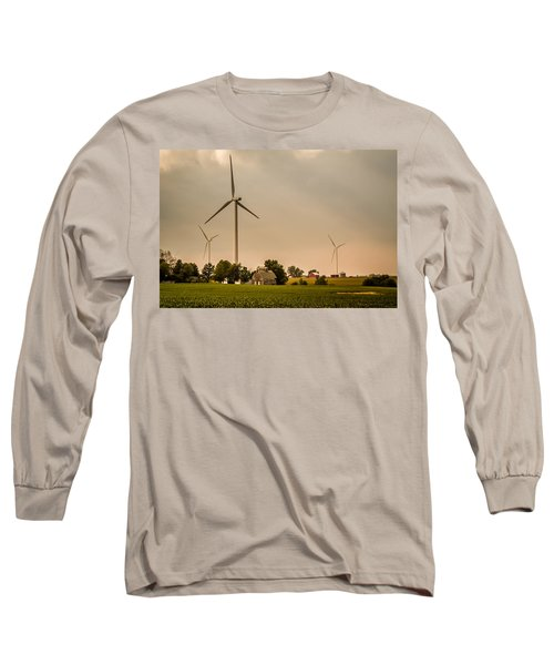 Farms And Windmills Long Sleeve T-Shirt