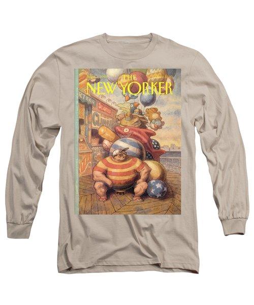 New Yorker September 6th, 1993 Long Sleeve T-Shirt