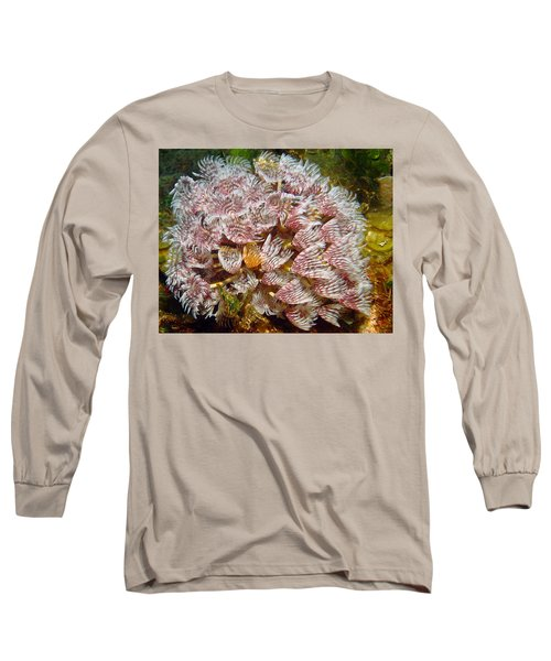 Featherduster With An Attitude  Long Sleeve T-Shirt
