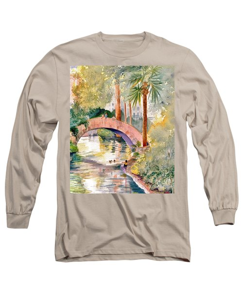Feeding The Ducks Long Sleeve T-Shirt