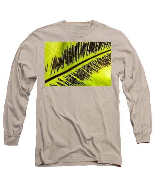 Fern Leaf Long Sleeve T-Shirt
