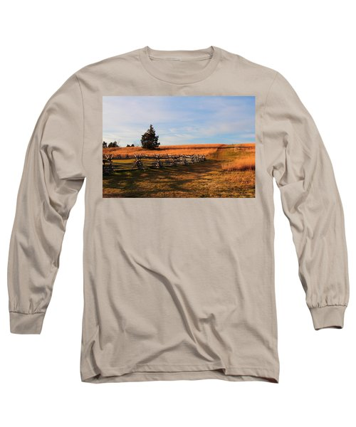 Field Of Shadows Long Sleeve T-Shirt