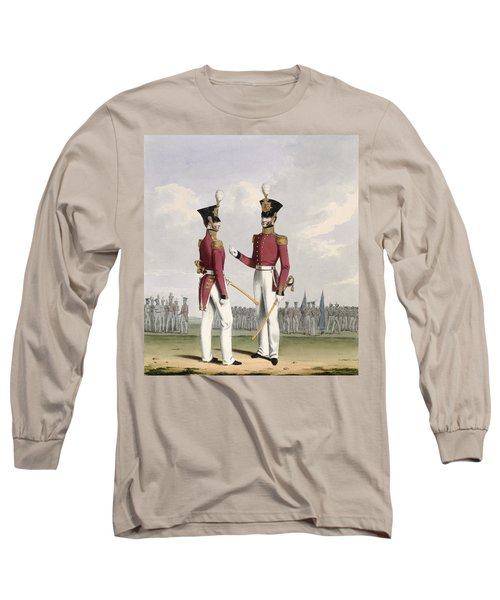 Field Officers Of The Royal Marines Long Sleeve T-Shirt