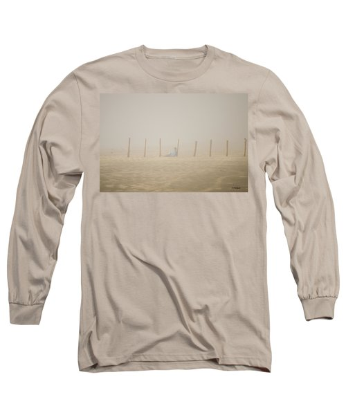 Figure In The Fog Long Sleeve T-Shirt