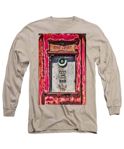 Long Sleeve T-Shirt featuring the photograph Fire Chief Gas by Steven Bateson