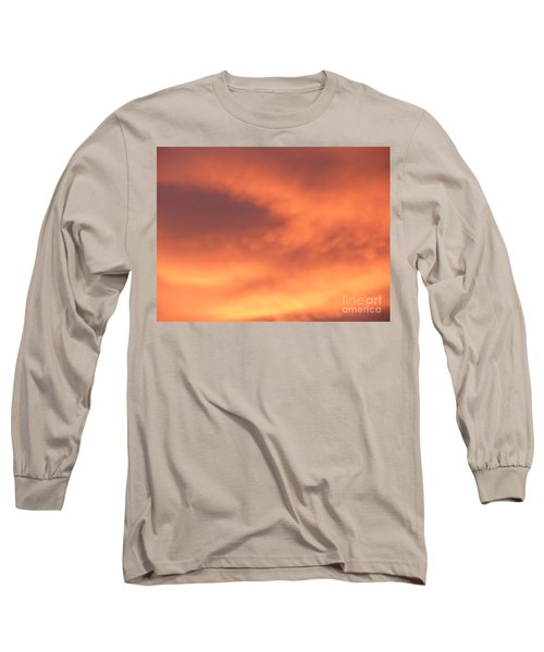 Fire Clouds Long Sleeve T-Shirt
