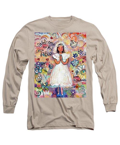First Communion Girl Long Sleeve T-Shirt