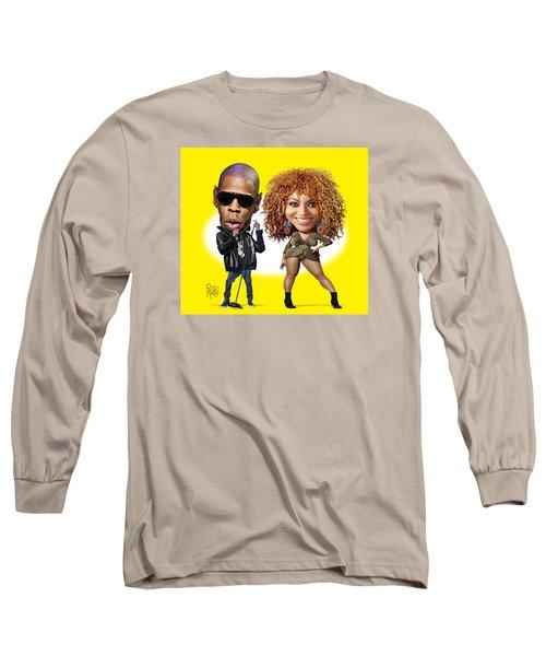 First Couple Long Sleeve T-Shirt by Scott Ross