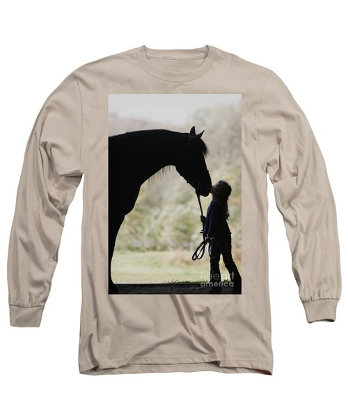 First Kiss Long Sleeve T-Shirt by Carol Lynn Coronios