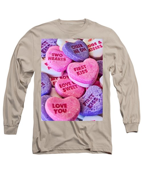 Long Sleeve T-Shirt featuring the photograph Valentines Day by Vizual Studio