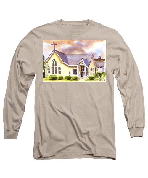 First Presbyterian Church Ironton Missouri Long Sleeve T-Shirt by Kip DeVore