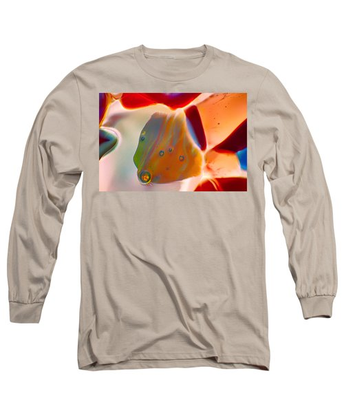 Fish Blowing Bubbles Long Sleeve T-Shirt