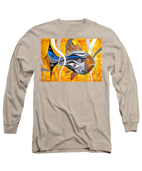 Fish Xi - Marucii Long Sleeve T-Shirt