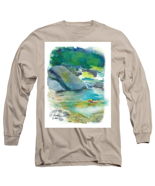 Fishin' Hole Long Sleeve T-Shirt by C Sitton