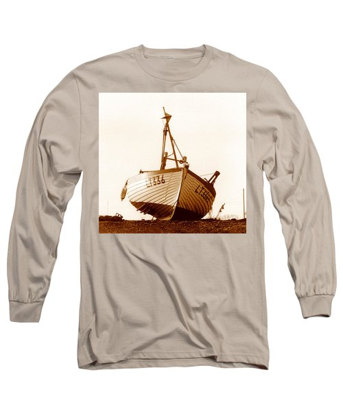 Fishing Boat Long Sleeve T-Shirt by Peter Mooyman