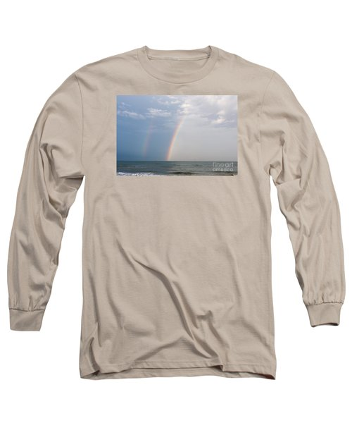 Fishing For A Pot Of Gold Long Sleeve T-Shirt by Paul Rebmann