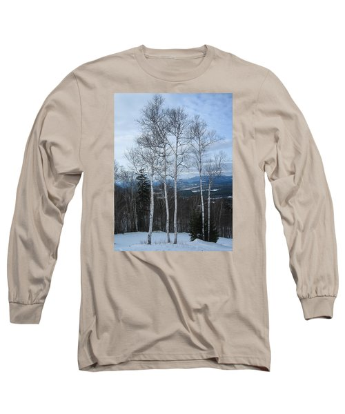 Five Birch Trees Long Sleeve T-Shirt