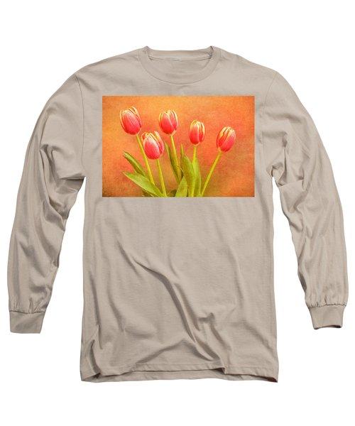 Five Tulips Long Sleeve T-Shirt