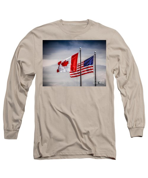 Flag Duo Long Sleeve T-Shirt