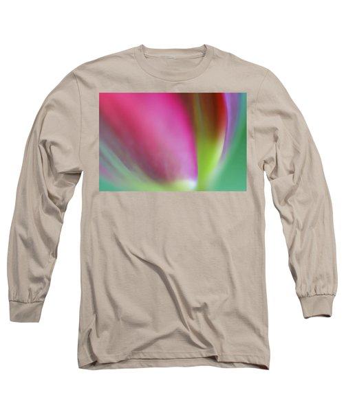 Flaming Tulip Long Sleeve T-Shirt
