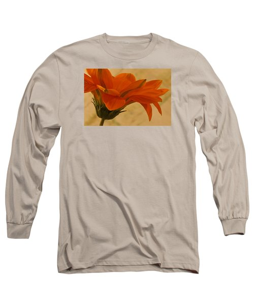 Long Sleeve T-Shirt featuring the photograph Flaunting Gazani by Sandra Foster