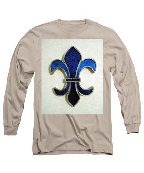 Long Sleeve T-Shirt featuring the photograph Fleur De Lis by Joseph Baril