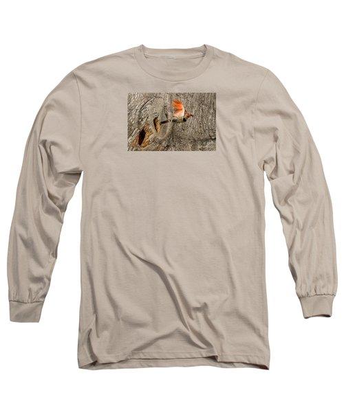 Flicker Flight Long Sleeve T-Shirt by Alice Cahill