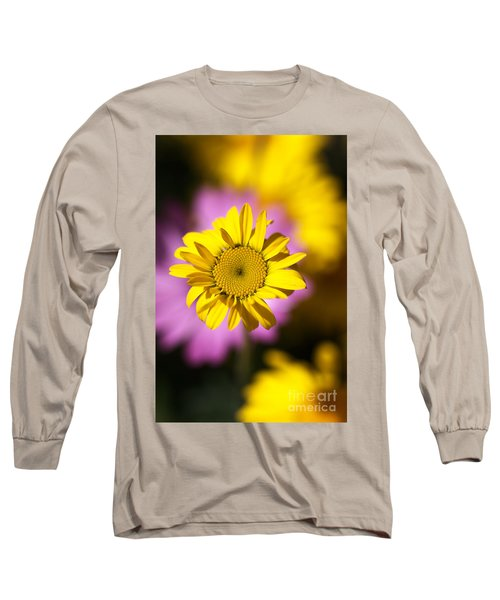 Long Sleeve T-Shirt featuring the photograph Floating Daisy by Joy Watson