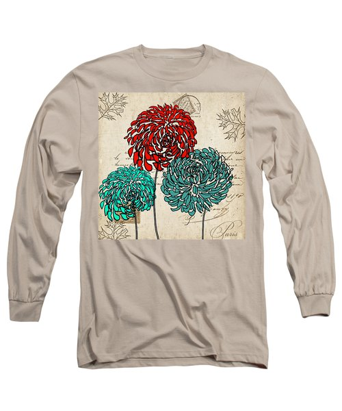 Floral Delight Iv Long Sleeve T-Shirt