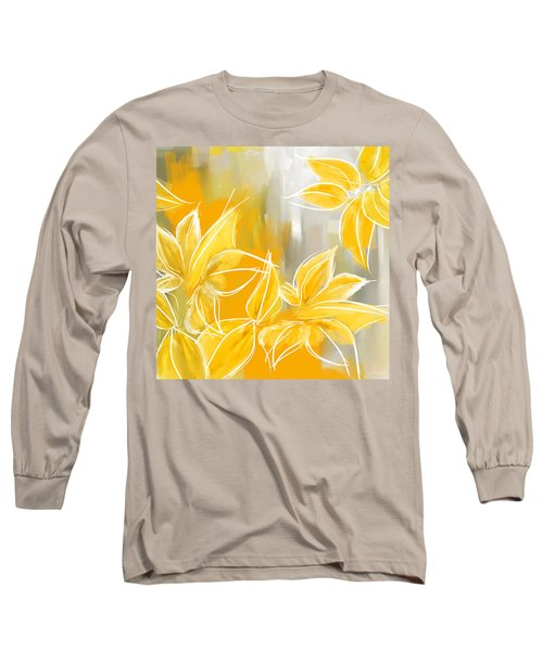 Floral Glow Long Sleeve T-Shirt