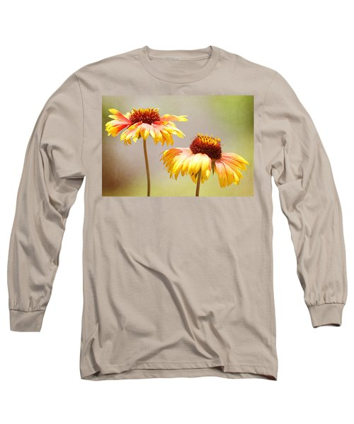 Floral Sunshine Long Sleeve T-Shirt