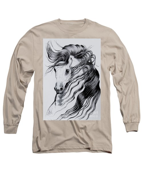 Florentino Constantnoble-what Dreams Are Made Of Long Sleeve T-Shirt by Cheryl Poland