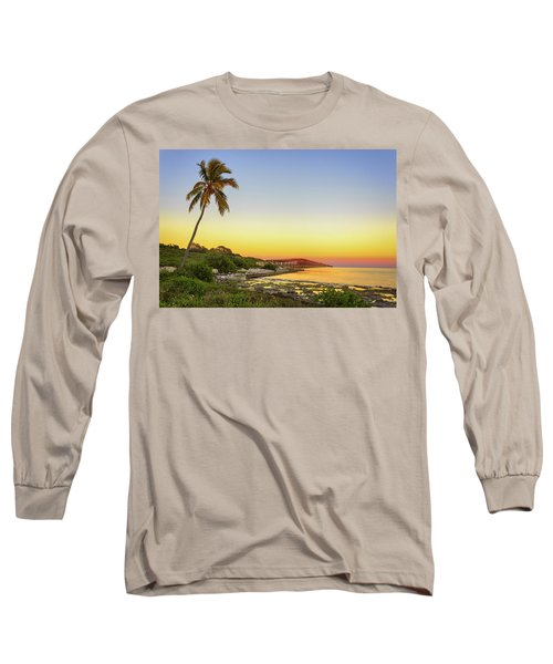 Florida Keys Sunset Long Sleeve T-Shirt