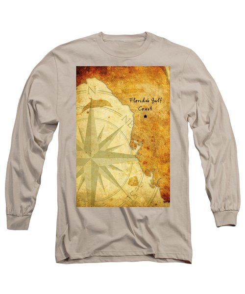 Florida's Gulf Coast Long Sleeve T-Shirt