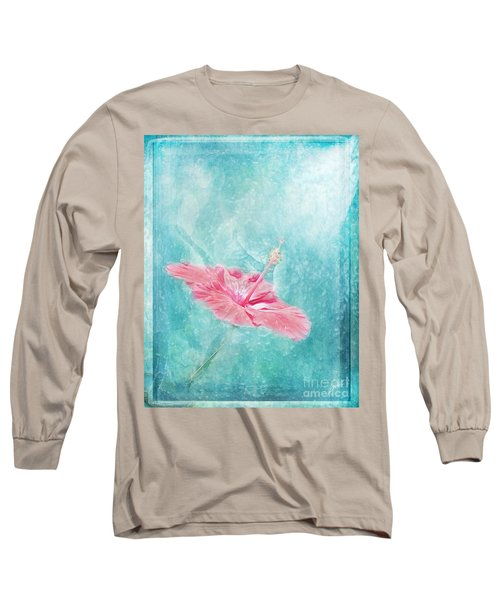 Flower Dancer Long Sleeve T-Shirt by Erika Weber