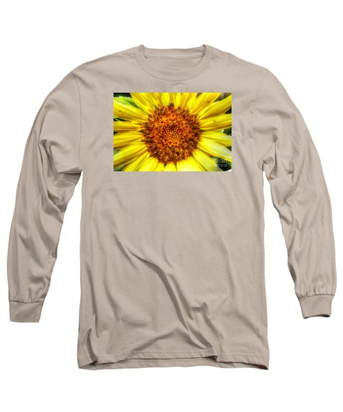 Flower Power Long Sleeve T-Shirt by Tina  LeCour