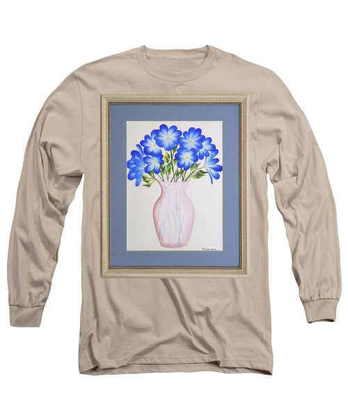 Flowers In A Vase Long Sleeve T-Shirt