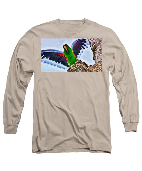 Fly And Shine Long Sleeve T-Shirt