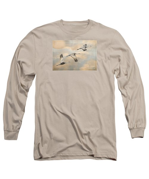 Fly Away Long Sleeve T-Shirt by Alice Cahill