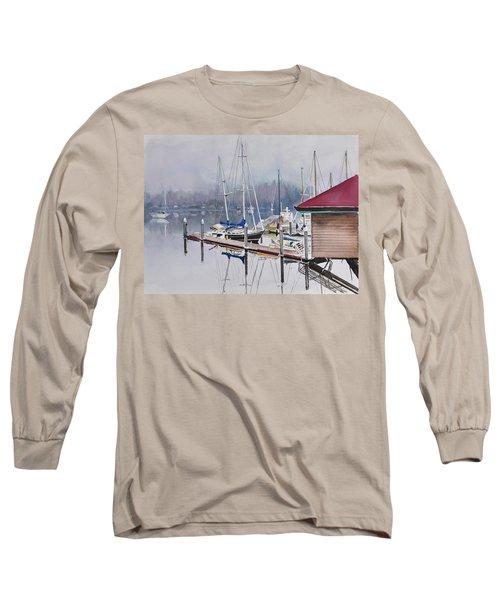 Foggy Dock Long Sleeve T-Shirt
