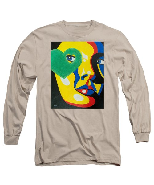 Long Sleeve T-Shirt featuring the painting Follow Your Heart by Susan DeLain