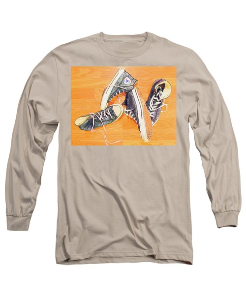 Long Sleeve T-Shirt featuring the photograph Following In The Footsteps by Greg Simmons