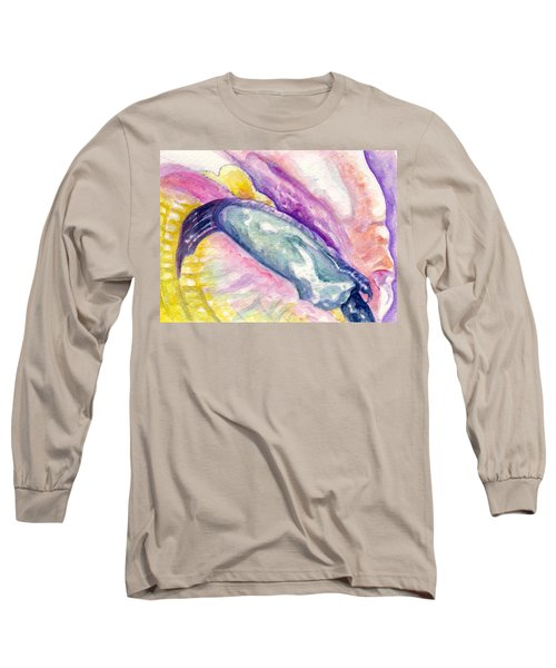 Foot Of Conch Long Sleeve T-Shirt by Ashley Kujan