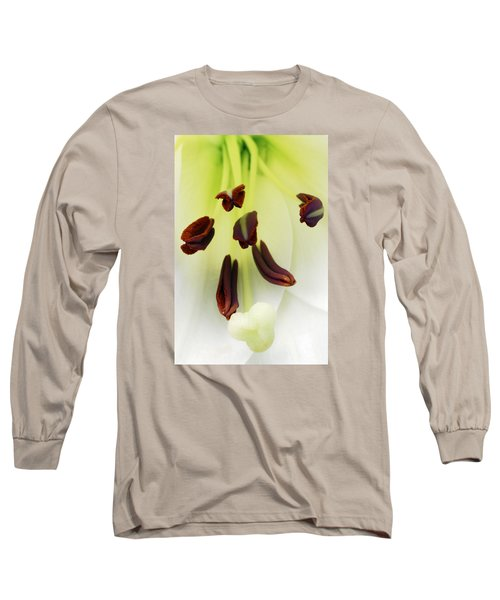Long Sleeve T-Shirt featuring the photograph For The Love Of Lilies 1 by Wendy Wilton