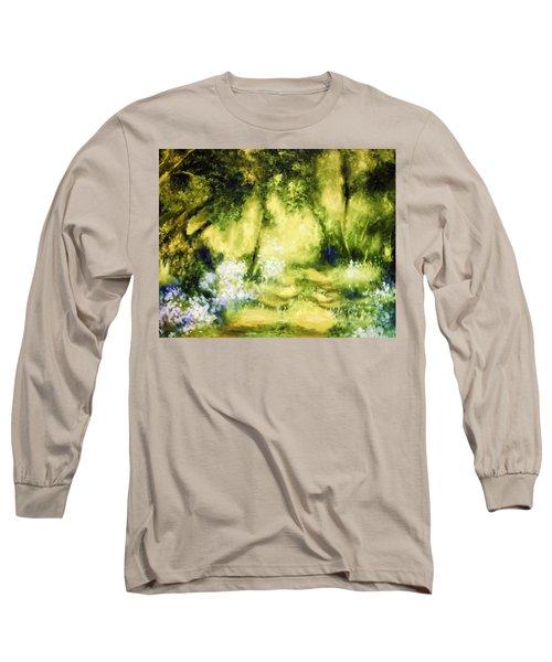 Forest Bluebells Long Sleeve T-Shirt