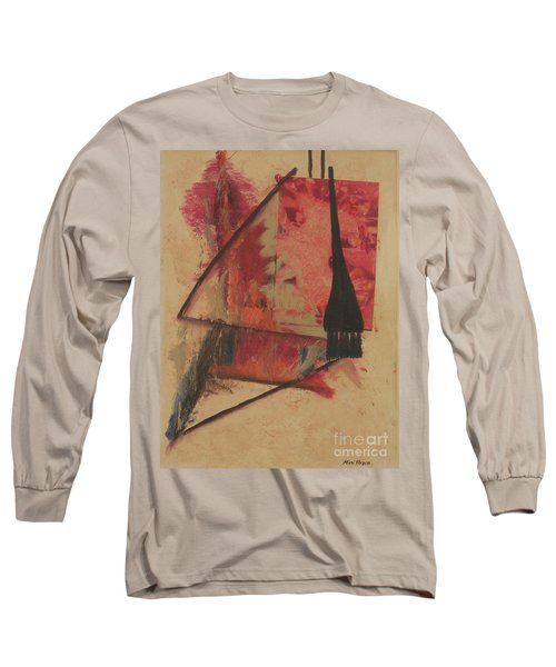 Long Sleeve T-Shirt featuring the painting Forgive My Tears by Mini Arora