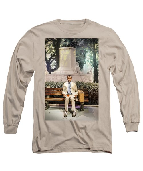 Forrest Gump Long Sleeve T-Shirt by Mountain Dreams