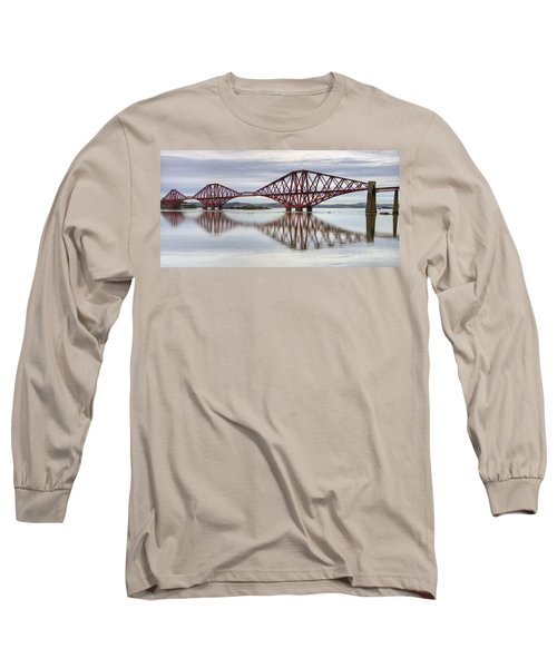 Forth Bridge Reflections Long Sleeve T-Shirt