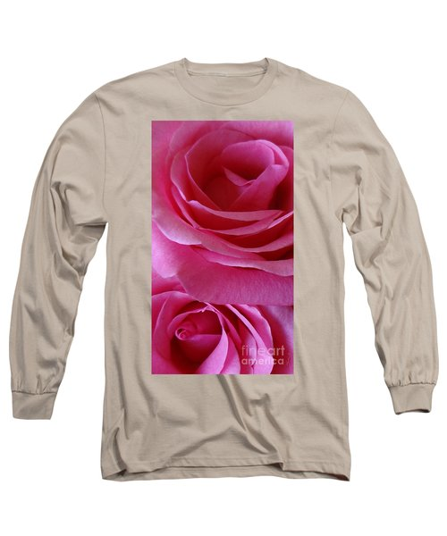 Face Of Roses 3 Long Sleeve T-Shirt by Gem S Visionary