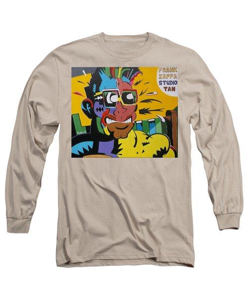 Frank Zappa's Sudio Tan Long Sleeve T-Shirt